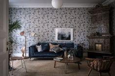 Skapa magi i din inredning med tapeter på väggarna