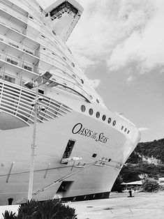 Royal Caribbean Oasis of the Seas cruise ship - one of the two largest cruise ships in the world