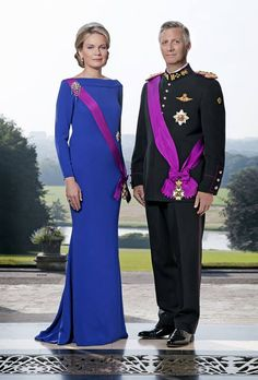 royalwatcher:  Newest images of King Philippe and Queen Mathilde of Belgium © Chancellerie du Premier Ministre – Photo Marie-Jo Lafontaine/Marina Cox