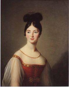The Athenaeum - Portrait of a Lady Élisabeth Vigée-Lebrun - 1831 Hermitage Museum - St-Petersburg (Russia) Painting - oil on canvas