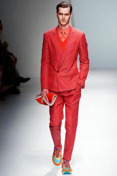 Salvatore Ferragamo Spring 2013 Menswear Collection