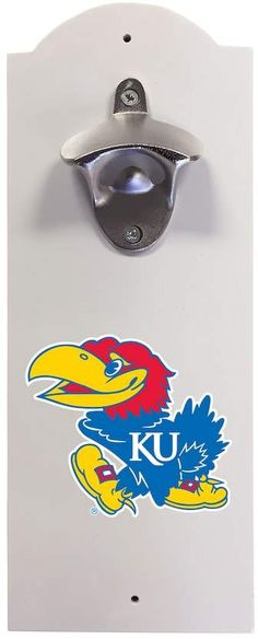 NCAA Kansas Jayhawks Wall-Mounted Bottle Opener