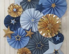 Navy and Gold Twinkle Twinkle Little Star Rosette Pinwheels >>> First Birthday Party >>> Baby Shower >>> Photography Backdrop by eventprint on Etsy Shower Party, Baby Shower Parties, Baby Shower Themes, Twinkle Star Party, Twinkle Twinkle Little Star, Baby Birthday, First Birthday Parties, First Birthdays, Fiesta Baby Shower