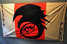 Flagge Dragon Ohnezahn