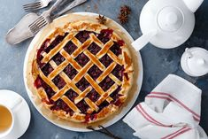 Cherry harvest will be here before we know it, so naturally we're dusting off all of our best cherry recipes in anticipation. It's also National Cherry Tart Day, which feels very apropos. What's your favorite cherry recipe? 🍒 Cherry Recipes, Cherry Tart, Dried Cherries, Harvest, Waffles, Breakfast, Feels, Food, Morning Coffee