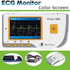ECG EKG Machine Electrocardiogram Handheld Heart Monitor Portable Health Care | eBay