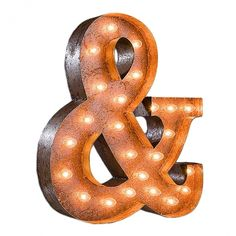 Vintage Marquee Lights Ampersand Vintage Marquee Light | Pure Home