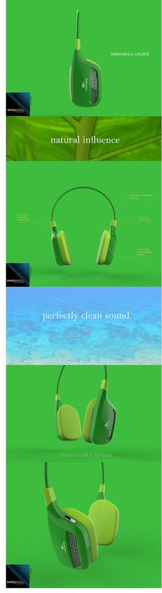 BLUETOOTH HEADPHONE for Swissvoice on Behance