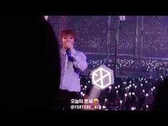 160722 EXO'rDIUM CONCERT TENDER LOVE XIUMIN, 엑소디움 콘서트 에리들의 숙제 검사 타임! 텐더럽...