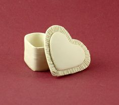 White Mini Heart Box   Flickr - Photo Sharing!
