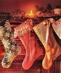 Christmas Stockings so beautiful!