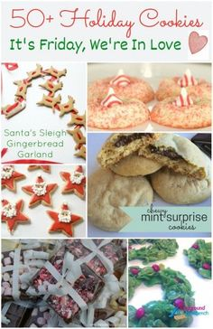 It's Friday - and this week, we are in love with Holiday Cookies!  With more than 50 Christmas cookies recipes and more being added to our link-up every day.
