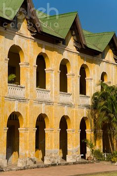 Old French-colonial building   Phnom Penh, Cambodia