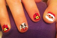 Christmas Nail Art Designs For Kids