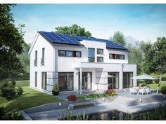 Innovation R - Haus R140_2_V15 - #Einfamilienhaus von RENSCH-HAUS GMBH | HausXXL #Fertighaus #Energiesparhaus #Nullenergiehaus #modern #Satteldach