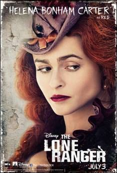 Helena Bonham Carter character poster for July 3 release, THE LONE RANGER.