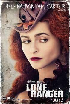 Helena Bonham Carter character poster for July 3 release, THE LONE RANGER.