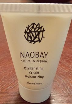 Naobay Natural & Organic Oxygenating Cream Moisturizing 20ml/0.67 fl. oz.