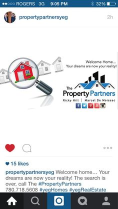 Let us help you find the home of your dreams! #PropertyPartners #YegRe