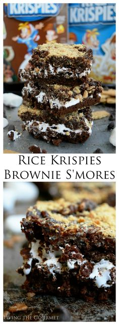 This shop has been compensated by Collective Bias, Inc. and its advertiser. All opinions are mine alone. #TreatYourselfToSummer #CollectiveBias Treat yourself and your guests to these sticky, fudgy, delicious Rice Krispies Brownie S'mores this summer!  #Ad @target