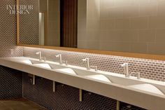Awesome Office Interior Design cast-stone sink restroom office interior design – GO WALLPAPER
