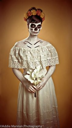 Dia De Los Muertos 4. $40.00, via Etsy.