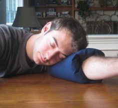 So you can fall asleep, comfortably, any where.....: Arm Pillo: Home & Kitchen