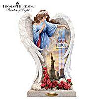 Thomas Kinkade We Will Never Forget Memorial Sculpture