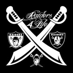 Team of the Decades Raiders 4 Life Decal/Window Sticker Raiders Pics, Nfl Raiders, Raiders Stuff, Raiders Baby, Oakland Raiders Logo, Raider Nation, Raiders Helmet, Chicano Style Tattoo, Raiders Wallpaper
