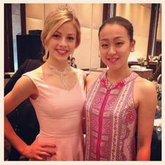 With Gracie Gold(USA) NHK Trophy 2013 Banquet