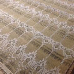 #nofilter IKAT 9.3x12.4 #handknotted #wool #loveofrugs #rugs #interiordesign 6995.00 / on Instagram http://ift.tt/1bQ1fec by NWRUGS http://ift.tt/1bQ1eqx