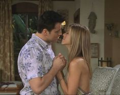 Joey & Rachel finally admit their feelings to each other after the group goes to Barbados to see Ross speak at a convention. Joey brought Charlie with him who he just started dating but Ross had a big crush on her as well as having much more in common with her as she worked in the same field as him. During the trip Charlie also realizes her & Joey have nothing in common & she starts to have feelings for Ross. The 4 of them All sneak around to spend time with the 1s they truly want to be…