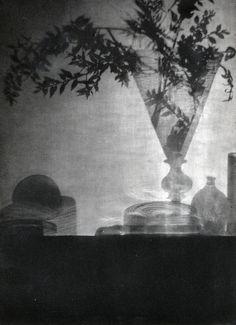 Baron Adolf de Meyer | Glass and Shadows, 1912 | Vintage photogravure on Japanese paper.