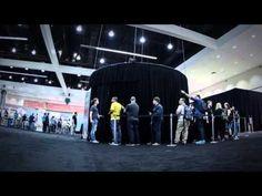 360 градусная фотобудка - YouTube