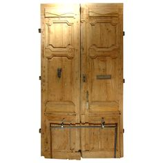 Period Antique Directoire Doors-Poplar Wood, Circa 1800 | From a unique collection of antique and modern doors and gates at http://www.1stdibs.com/furniture/building-garden/doors-gates/