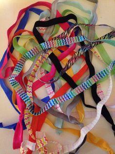 Pick TEN Elastic Headband Adult Size: Fold Over Elastic FOE