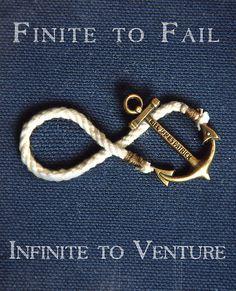 """Finite to fail, but infinite to venture"". (Taken with Kiel James Patrick Instagram) http://web.stagram.com/n/kieljp/"
