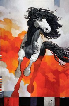 ghost in the machine - Horses by Craig Kosak