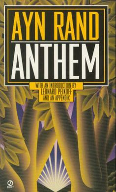 Anthem by Ayn Rand, Introduction by Leonard Peikoff. I re-read this a few times a year for the sheer joy and celebration of an individual mind.