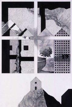 Franco Purini, 'I paesaggi dell'architettura', 1980