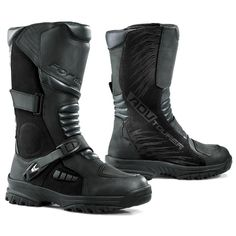 Forma ADV Tourer Boots - RevZilla The ADV Tourers blend the all-day comfort of a touring boot with the technical and rugged styling typically associated with hardcore adventure boots. Waterproof Motorcycle Boots, Mens Motorcycle Boots, Forma Adventure, Brown Boots, Black Boots, Adventure Boots, Gore Tex Boots, Cheap Boots, Riding Gear