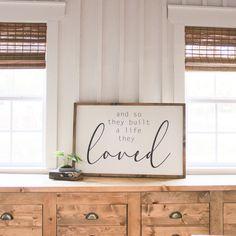 Bedroom Signs, Bedroom Decor, Wall Decor, Master Bedroom, Bedroom Ideas, Wood Signs Home Decor, Cozy Bedroom, Farmhouse Signs, Farmhouse Decor