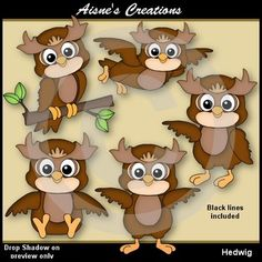 """soooo cute... and FREE! - Hedwig Owl  ....Follow for more """"too-neat-not-to-keep"""" teaching tools & other fun FREE stuff :)"""