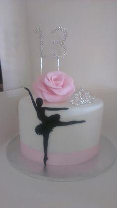Ballerina Cake Toppers | Ballerina Cake! For my oldest daughters birthday cake idea! She'll be ...