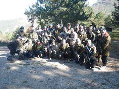 Partita di softair alla Forca di Ancarano di Norcia (PG)