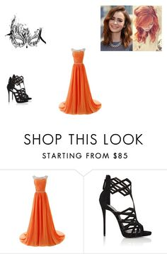 """Iris Evans - Forgotten Promises"" by bookworm22412 ❤ liked on Polyvore featuring Masquerade and Giuseppe Zanotti"