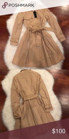 Woman's trench coat. New with tag. Woman's trench coat. New with tag. bebe Jackets & Coats Trench Coats