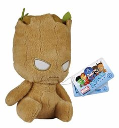 Funko- Mopeez: GOTG - Groot! Travel-sized plush buddy! Check out the other Mopeez figures from Funko! Collect them all!