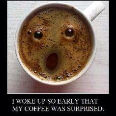 A Coffee Shock! Lol :)