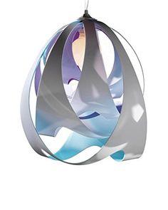 Slamp Pendelleuchte Goccia Opal elfenbein 脴30 H 43cm H max183cm ()